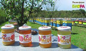 Honey Bee Farm BIORA produces high quality honey